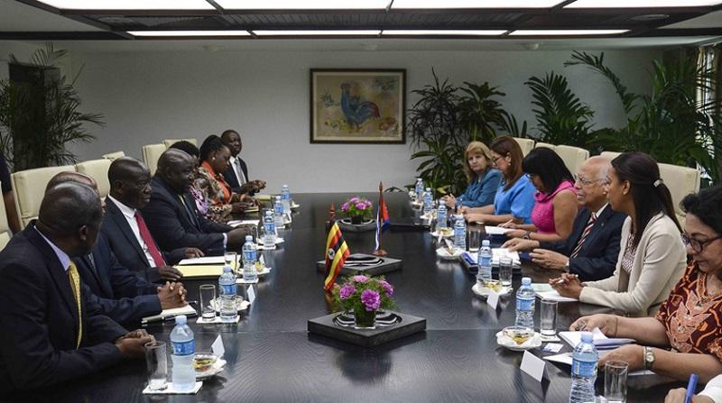 Ricardo Cabrisas recibió a vicepresidente ugandés — Cuba