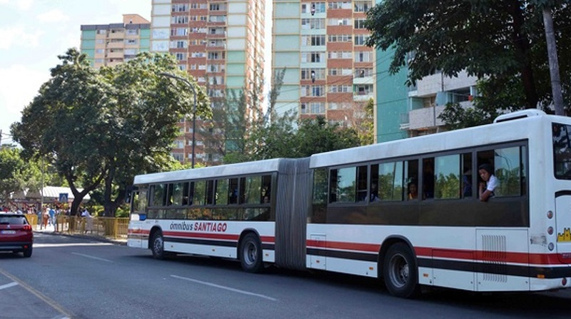 Circulan nuevos ómnibus Paz de tecnología rusa en Santiago de Cuba