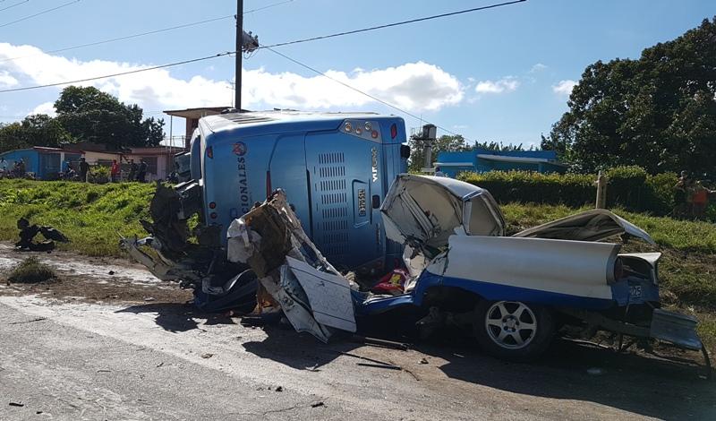 En Audio: Accidente de tránsito en Camagüey