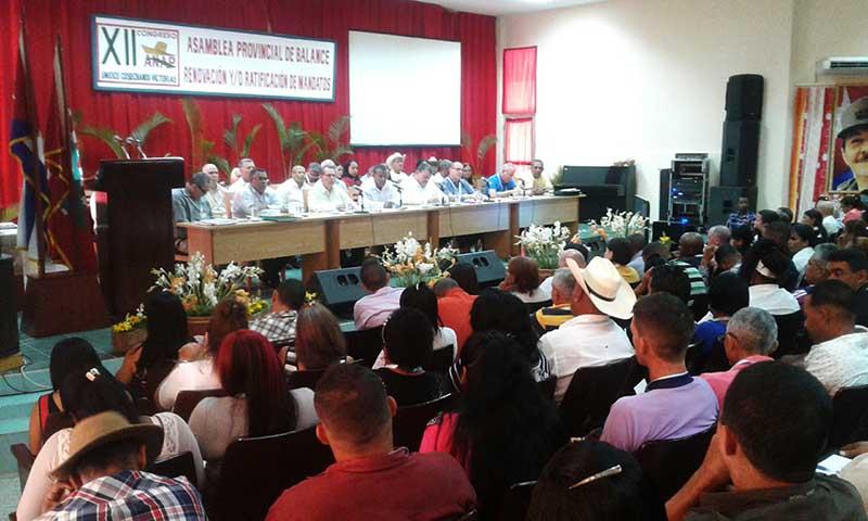 Realizan en Guantánamo Asamblea Provincial XII Congreso de la ANAP