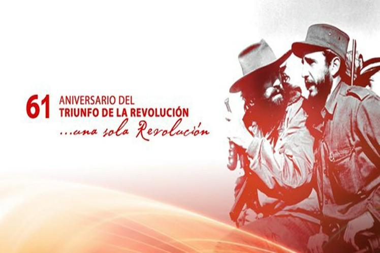 Saludan Gobiernos del mundo a Cuba por el Aniversario 61 de Revolución
