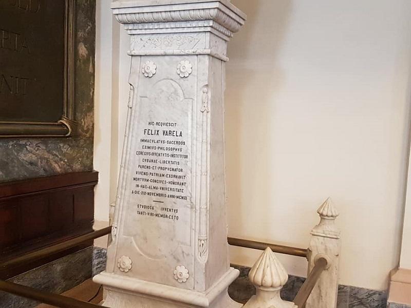 Arzobispo de Nueva York honra y recuerda al padre Félix Varela