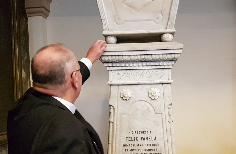 En Audio: Significa Arzobispo de Nueva York Obra de Félix Varela (+Fotos)