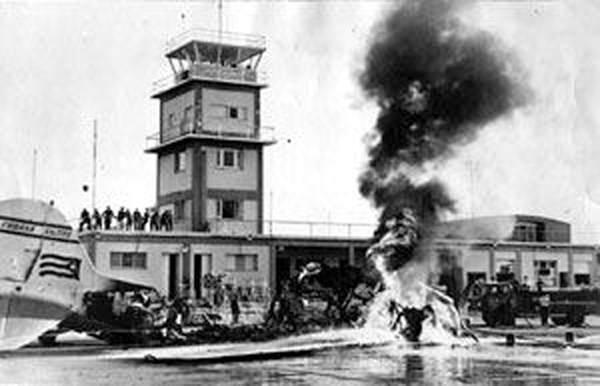Recordarán los 60 años del ataque mercenario al aeropuerto de Santiago de Cuba
