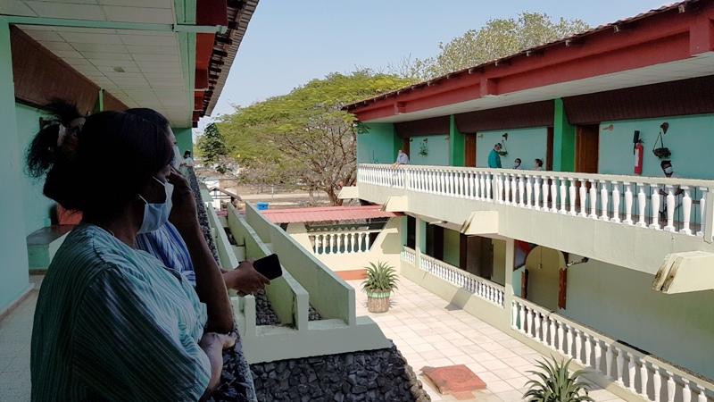 Huéspedes especiales en el Hotel de las FAR de Camagüey