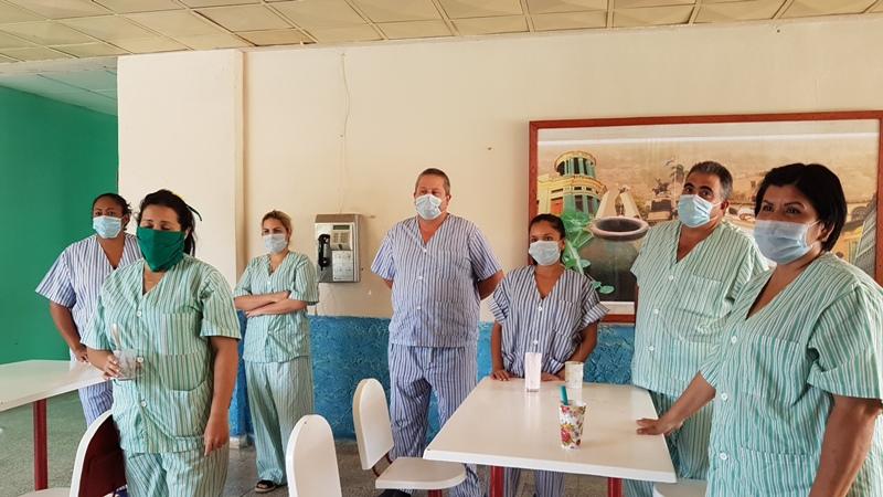 Ninguno está enfermo pero deben umplir período de cuarentena.