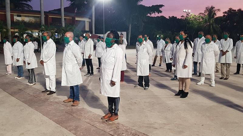 Cuba tiene médicos para ella y para el mundo