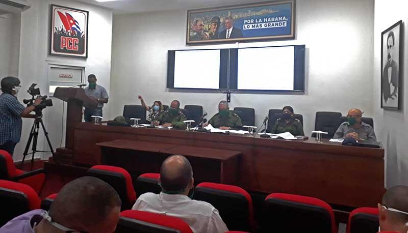Resalta Consejo de Defensa de La Habana necesidad del aislamiento social