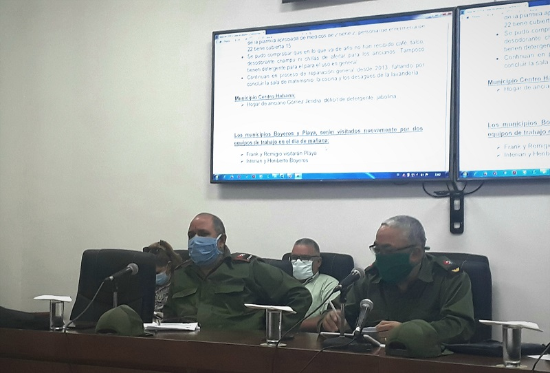 Chequea Consejo de Defensa en La Habana plan para el combate a la Covid-19 (+Audio)