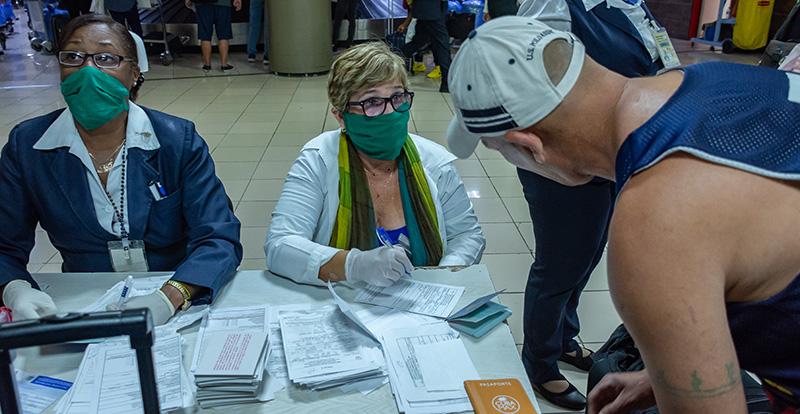 Informa Cuba medidas de Control Sanitario Internacional en aeropuertos