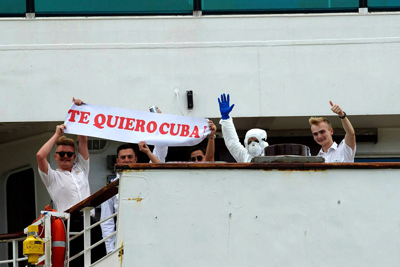 UK thanks Cubans for supporting MS Braemar cruise