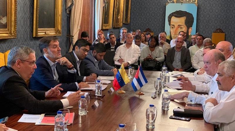 Instalada la XX reunión de la Comisión Intergubernamental Cuba-Venezuela