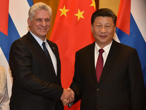 Chinese President hails election of Díaz-Canel as Cuba party leader