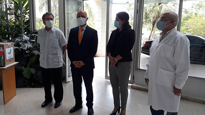 United Arab Emirates sends donation of medical supplies to Cuba