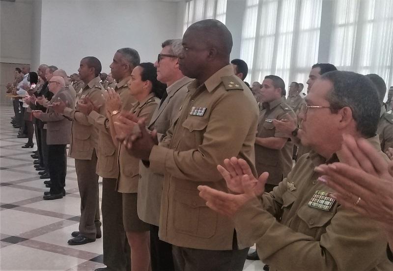 Homenaje de las FAR por el Día de la Ciencia Cuba