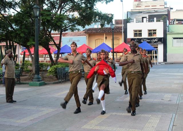 Fiesta a la Bandera en Santiago de Cuba