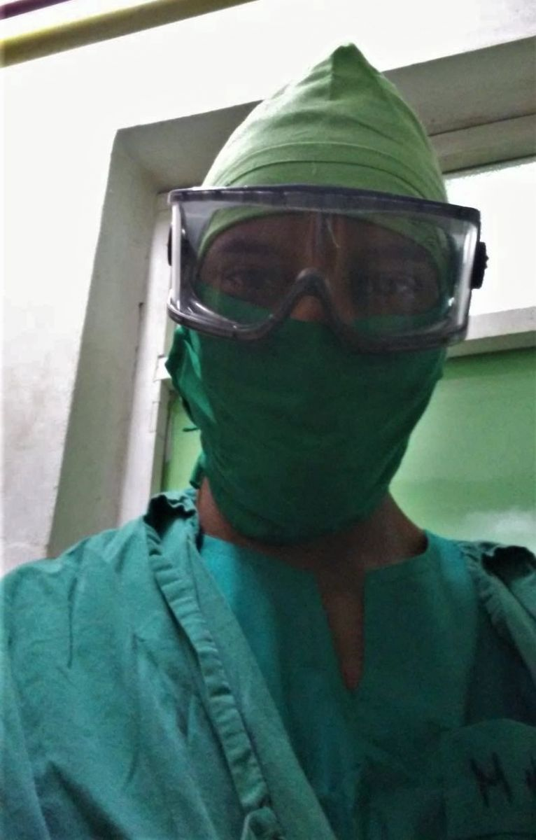 Doctor Renier Garcia, medicina interna.