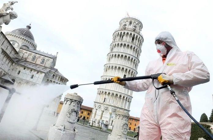 Registra Italia más de 4 mil muertes por la COVID-19