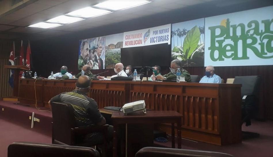 Evalúa Machado Ventura programa de producción de alimentos en Pinar del Río (+Audio)
