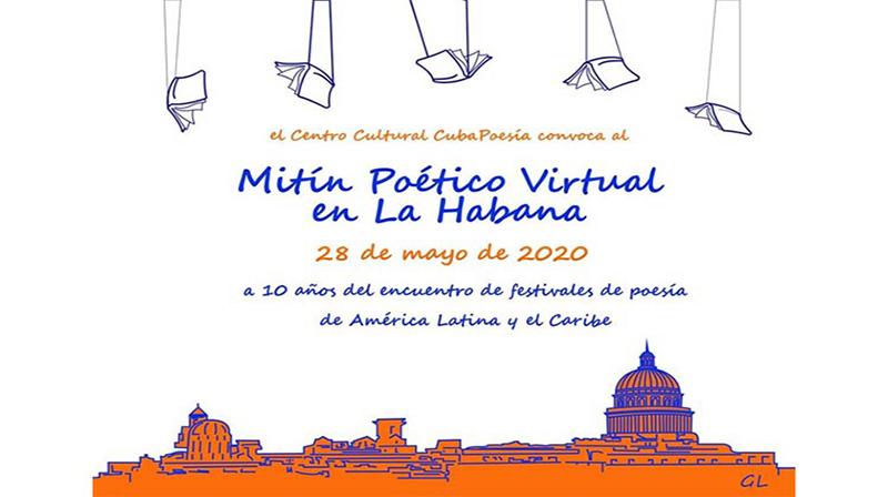 🎧 Mitin Poético Virtual en La Habana