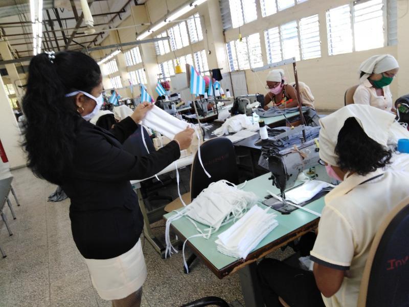 Más nasobucos para el sistema de salud cubano