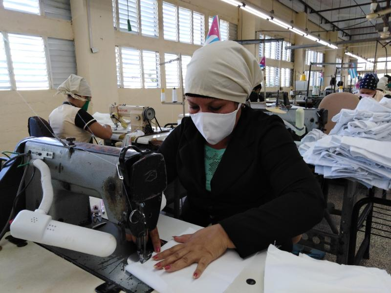 More Face Masks for the Cuban Health System