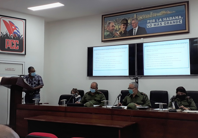 La Habana refuerza medidas de control frente a la COVID-19