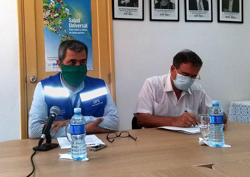 Elogia la OPS labor de Cuba en la lucha contra la COVID-19