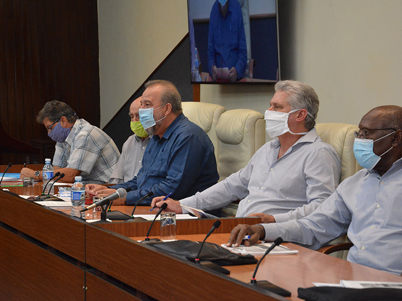 En Audio: Anuncia el Gobierno cubano nuevas medidas para el reforzamiento del combate frente a la COVID-19