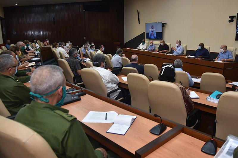 """Díaz-Canel: """"Cuba siempre ha demostrado en Revolución, su unidad"""" (+Audio)"""