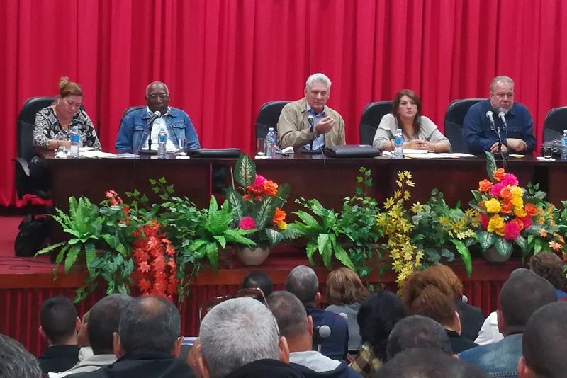 Concluye visita gubernamental a Sancti Spíritus