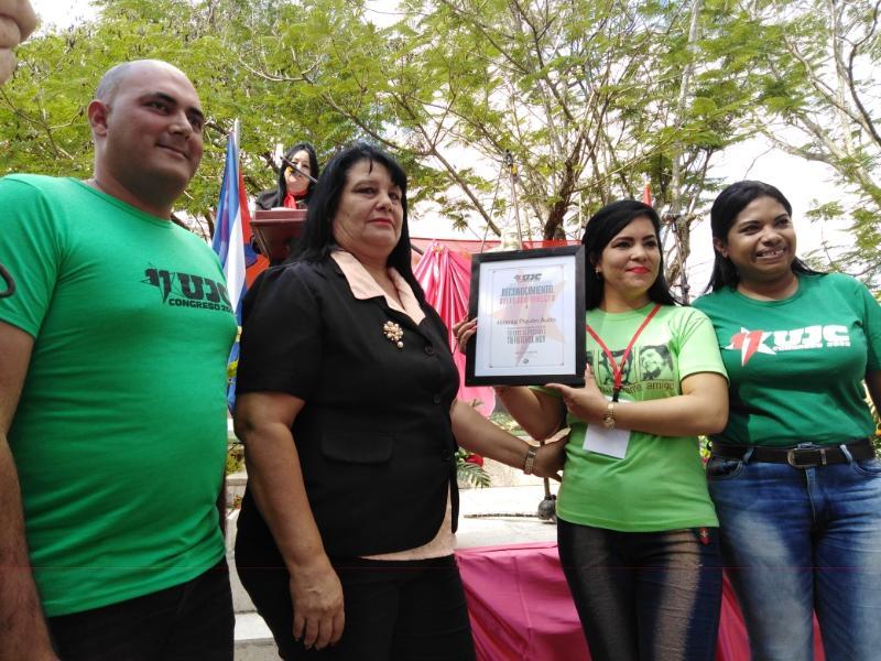 En Las Tunas la primera delegada directa al XI Congreso de la UJC es de Melissa (+Audio)