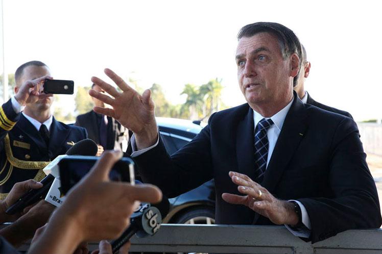 Toma nota, Bolsonaro