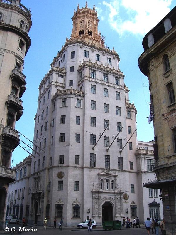 Fue el edificio más alto de Cuba