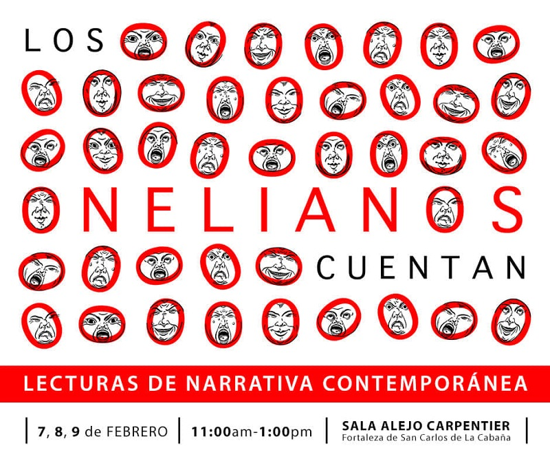 """""""Los onelianos cuentan"""", espacio para la lectura de narrativa contemporánea"""