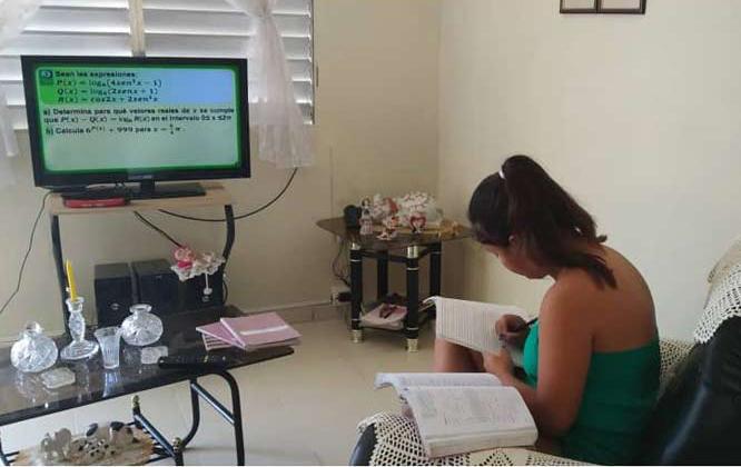 Realizan ajustes en la transmisión de las actividades docentes televisivas