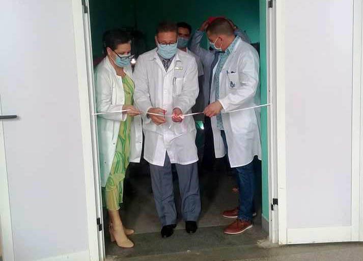 Apertura del Aula especializada de postgrado en Hospital Materno Camagüey.