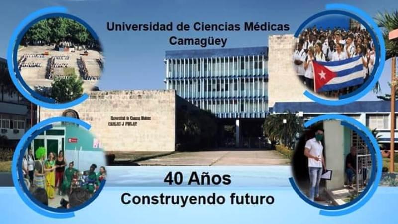 Cumple 40 años Universidad Médica de Camagüey
