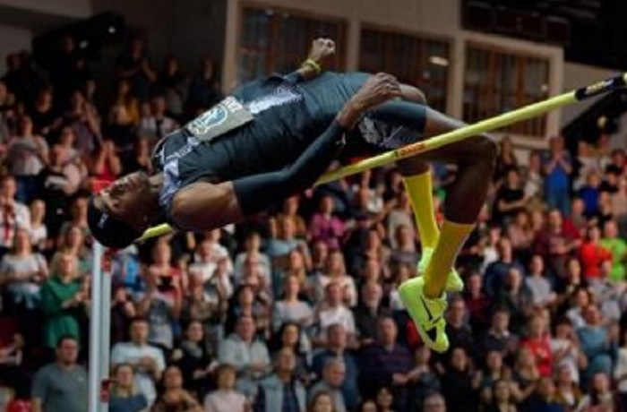 Cuban high jumper Zayas celebrates new victory in Europe