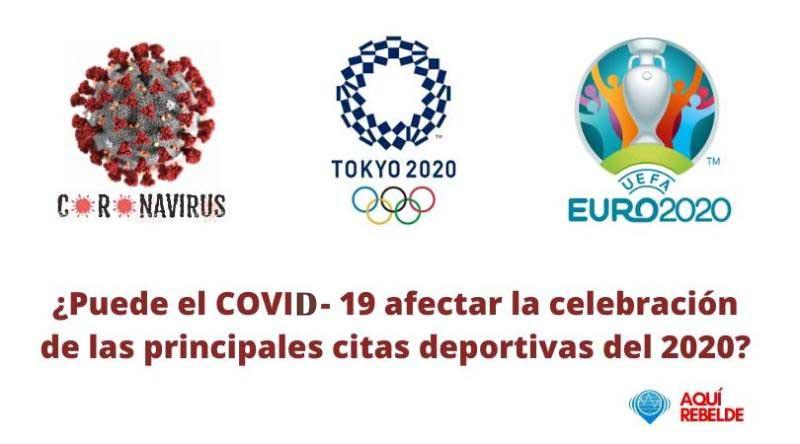¿Podría el Covid-19 afectar la celebración de las principales citas deportivas del 2020?