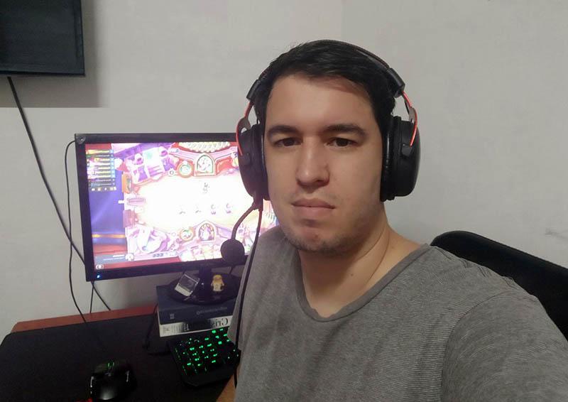 Alejandro Ferrera, Vicepresidente de la Agrupación de Deportes Electrónicos de Cuba