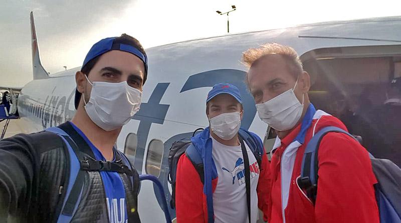Ya están en Cuba tiradores y voleibolistas procedentes de Perú