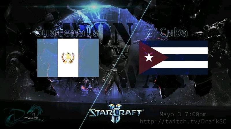 Esport: Cuba vs Guatemala en StarCraft 2