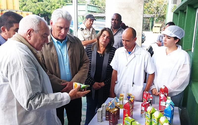Continúa visita gubernamental a Sancti Spíritus