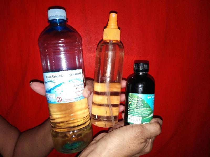 🎧 Comercializa LABIOFAM en Las Tunas gel y loción desinfectantes