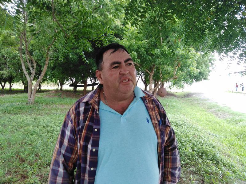 Rolando Fernandez Rodríguez Administrador de la UEB de Casas de cultivos tapados Siguaraya.
