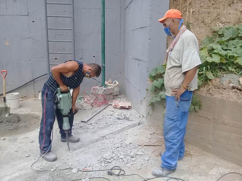 Acondicionan centro de salud en Caracas