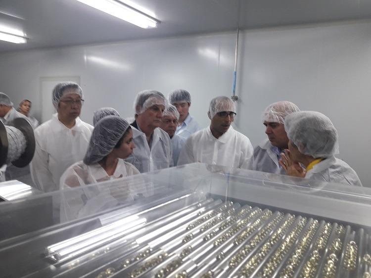 The Inauguration of the First Soft Capsules Center in Cuba