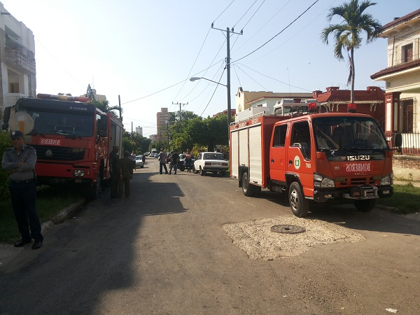 Major fire at Cuban cancer center controlled, no casualties