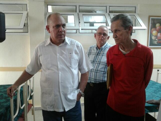 Inaugura ministro de Salud Pública Hogar de Ancianos en Mayabeque (+Audio)
